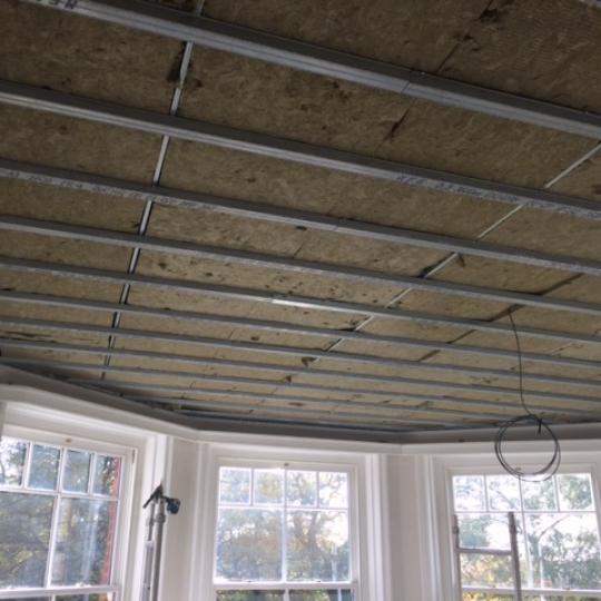 Acoustic ceiling - Wimborne