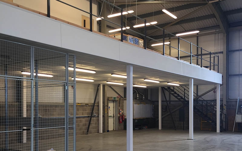 Mezzanine Floors Dorset & Hampshire | RDP